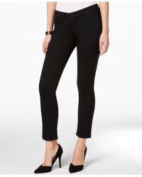 Vintage America - Petite Medium Wash Straight-leg Jeans - Lyst