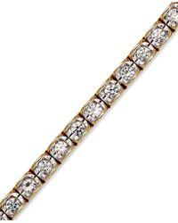 Macy's - Diamond Bracelet (2-3/8 Ct. T.w.) In 14k Gold - Lyst