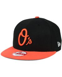 los angeles 7533a 15233 KTZ Baltimore Orioles Under Woodland 59fifty Cap in Green for Men - Lyst