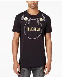 True Religion - Graphic-print T-shirt - Lyst
