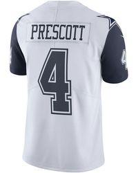 new styles bd279 8d5be Nike Ezekiel Elliot Dallas Cowboys Legend Color Rush Jersey ...
