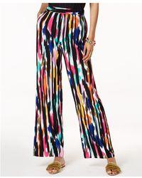INC International Concepts - Trina Turk X I.n.c. Ikat Printed Soft Pants, Created For Macy's - Lyst