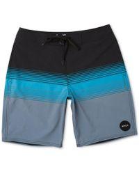 cd45e238ab Sean John Colorblocked Swim Shorts in Blue for Men - Lyst