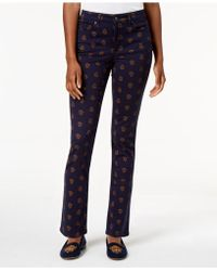 Charter Club - Lexington Printed Jeans, Created For Macy's - Lyst