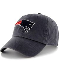 dc3dd580c2d Lyst - 47 Brand New England Patriots Clean Up Cap in Red for Men