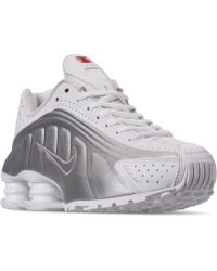 100% authentic 2d0bb 0549c Nike - Shox R4 Casual Sneakers From Finish Line - Lyst