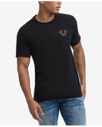 True Religion - Skull Graphic T-shirt - Lyst
