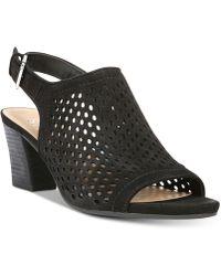 Franco Sarto - Monaco Perforated Dress Sandals - Lyst