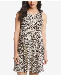Karen Kane - Chloe Leopard-print A-line Dress - Lyst
