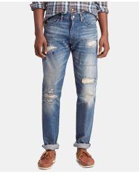 f93b712a7 Polo Ralph Lauren Slim Straight Rockford Jean in Blue for Men - Lyst