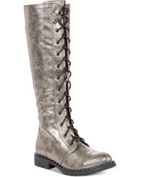 Dirty Laundry - Roset Tall Combat Boots - Lyst