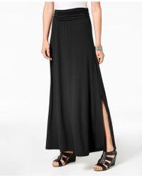 Style & Co. - Comfort-waist Maxi Skirt, Created For Macy's - Lyst
