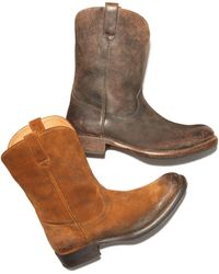 Frye - Duke Roper Boots - Lyst