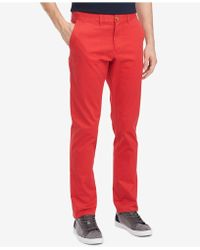 94a22f108 Tommy Hilfiger - Th Flex Stretch Custom-fit Chino Pant, Created For Macy's -