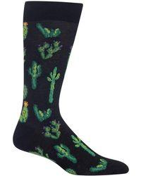 Hot Sox - Cactus Crew Socks - Lyst
