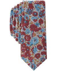 Original Penguin - Men's Montini Floral Skinny Tie - Lyst