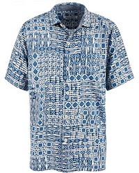 Tommy Bahama - Tile Traveller Silk Camp Shirt - Lyst