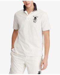 93a62ba024fc Lyst - Polo Ralph Lauren Pima Soft-touch Shirt in Blue for Men