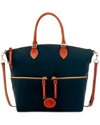 Dooney & Bourke - Large Pocket Satchel - Lyst