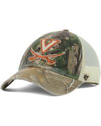 47 Brand - Virginia Cavaliers Ncaa Closer Cap - Lyst
