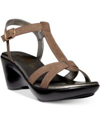 Callisto - Kali Platform Wedge Sandals, A Macy's Exclusive Style - Lyst
