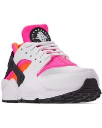 ab0f0e769d6a Lyst - Nike Air Huarache Run Running Sneakers From Finish Line in Gray