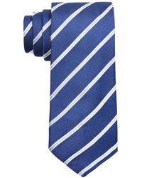 BOSS - Slim Stripe Tie - Lyst