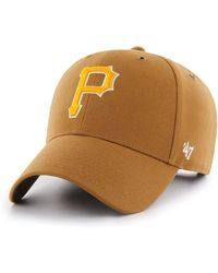 fce4a7a7d 47 Brand Pittsburgh Pirates Navy Pink Mvp Cap in Blue for Men - Lyst