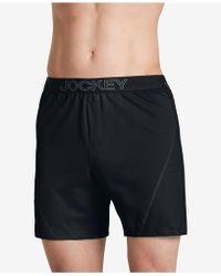 Jockey - Knit No-bunch Boxers - Lyst
