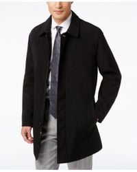 Kenneth Cole | Coat, Revere Raincoat | Lyst