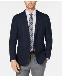 Kenneth Cole Reaction - Slim-fit Navy Solid Sport Coat, Online Only - Lyst