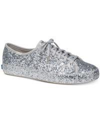 Kate Spade - Keds For Kate Spade New York Kickstart Glitter Sneaker - Lyst