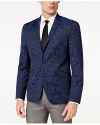 Kenneth Cole Reaction - Slim-fit Stretch Paisley Dinner Jacket - Lyst