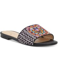 3a65efefc85942 INC International Concepts - Trina Turk X I.n.c. Maira Slide Sandals