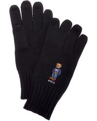 Polo Ralph Lauren | Men's Bear Knit Gloves | Lyst