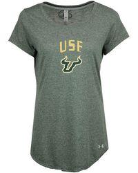 Under Armour | Women's Longline T-shirt | Lyst