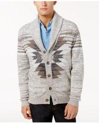 American Rag - Men's Southwest Cardigan Sweater - Lyst