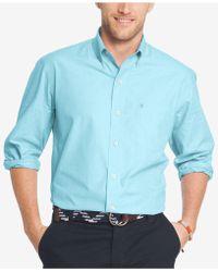 Izod - Men's Essential Poplin Oxford Shirt - Lyst
