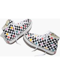 Madewell - Vans® Unisex Sk8-hi Decon High-top Trainers In Party Checkerboard - Lyst