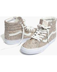 dae1193575df31 Madewell - Vans® Unisex Sk8-hi High-top Sneakers In Glitter - Lyst