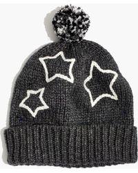 Madewell - Starry Pom-pom Beanie - Lyst