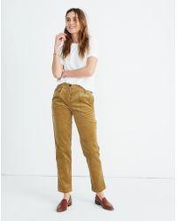 75b15529c Madewell Sessun™ Corduroy Rocco Trousers