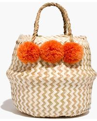 Madewell - Xinh & Co. Mini Basket Tote - Lyst