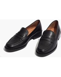 Madewell - The Elinor Loafer In Leather - Lyst