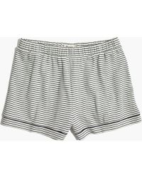 Madewell - Knit Bedtime Pajama Shorts - Lyst