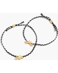 Madewell - Two-pack Friendship Bracelets - Lyst