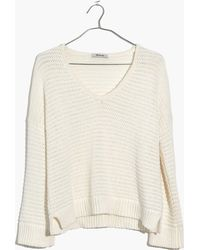 Madewell - Breezeway Pullover Sweater - Lyst