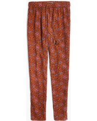 Madewell - Caracas Cover-up Trousers In Warm Paisley - Lyst