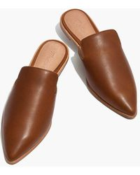 Madewell - The Gemma Mule In Leather - Lyst