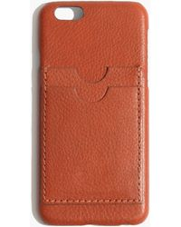 Madewell - Leather Carryall Case For Iphone® 6 - Lyst